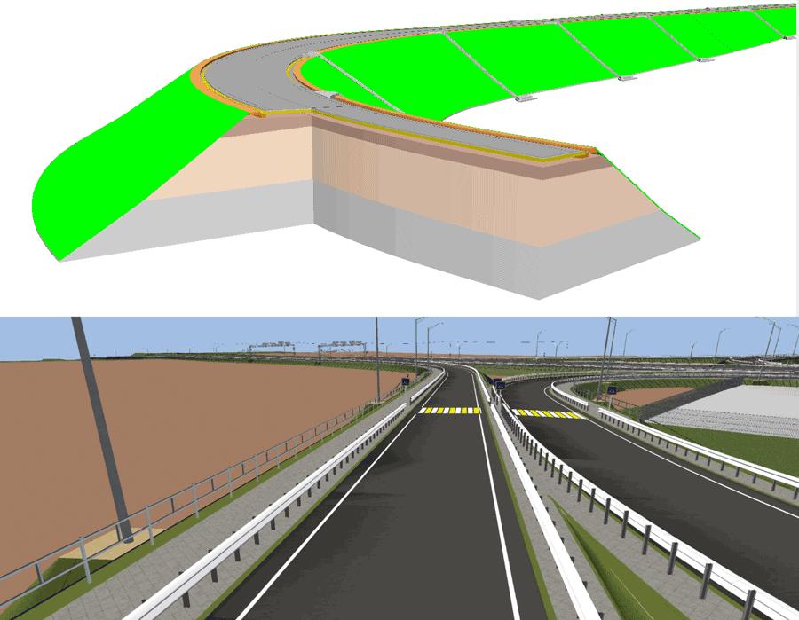 Рис. 30. Інформаційна модель дороги