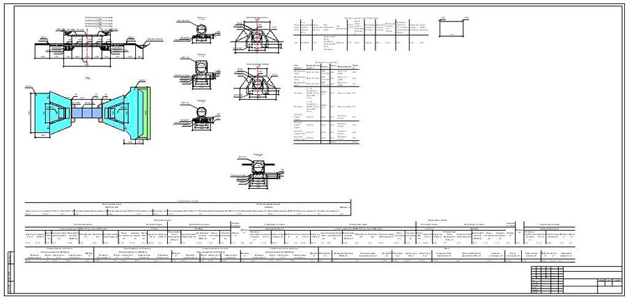 Рис.6 Вид комплексного креслення і схема будівельного підйому