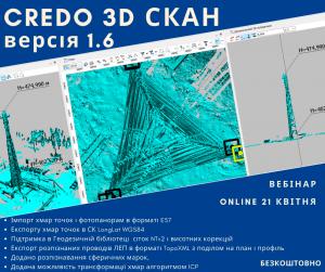 Нова версія CREDO 3D СКАН 1.6
