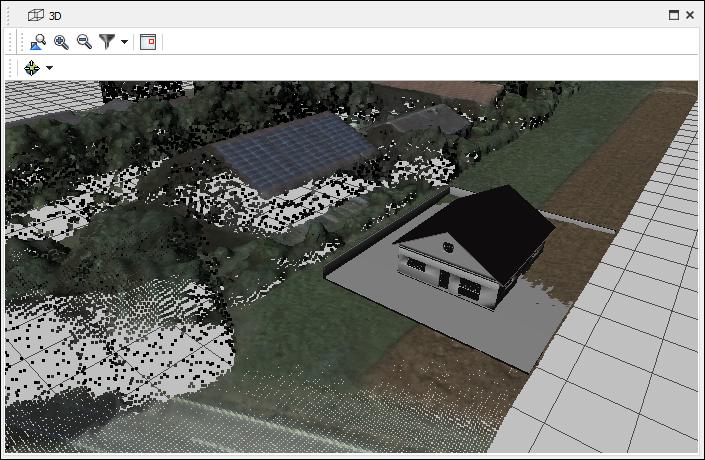 Рис. 12. Спільна робота з хмарами точок і 3D моделями.