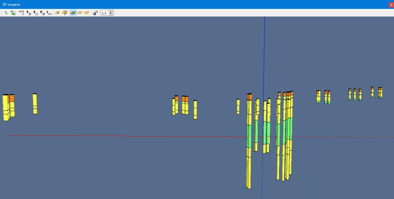 Нове в геологічній лінійці СREDO версії 2.7 - рис.4