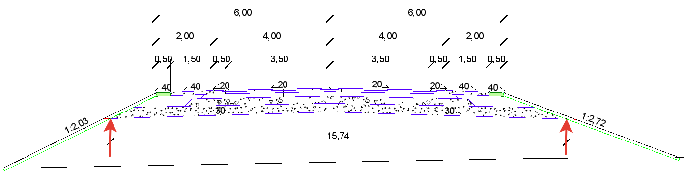 Нове для проектування доріг у CREDO III версії 2.7 - рис.10